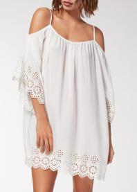 Vestido bordado ingles Calcedonia